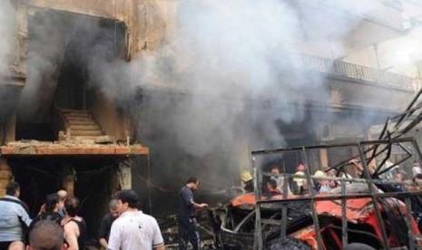 Upaya Pengeboman di Suriah Digagalkan