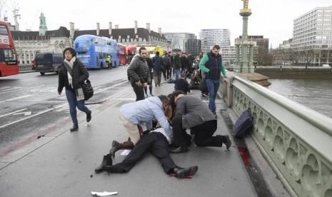 Jenguk Korban Serangan London, Menlu Prancis Pastikan Warganya Selamat