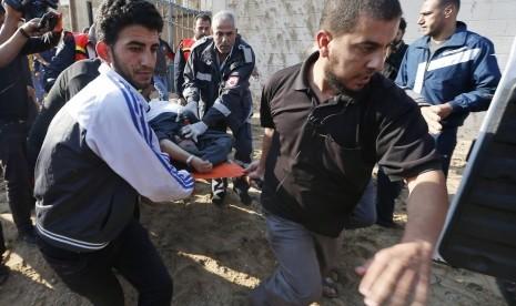 Gaza Diserang, 15 Warga Palestina Tewas