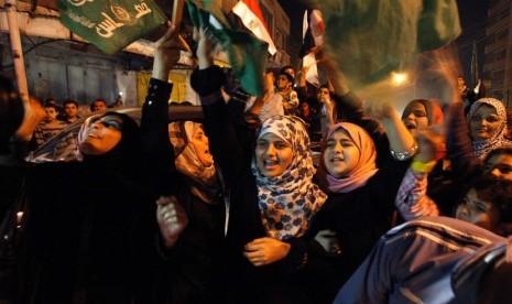 Setengah Juta Umat Ikuti Milad Hamas