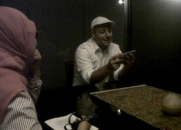 Maher Zain during the exclusive interview with Republika on Monday.