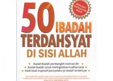 Inilah 50 Ibadah Utama
