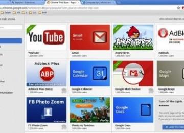 Google Rilis Chrome Web Store untuk  Indonesia.
