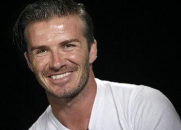 Horee... Beckham Bakal Berkunjung ke Indonesia