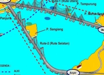 Jembatan indonesia vs jembatan china