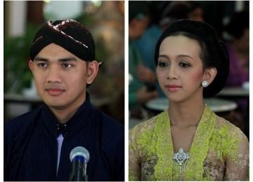 Gambar FOTO PERNIKAHAN PUTRI BUNGSU SULTAN HAMENGKUBUWONO X | Penjagaan Pernikahan Putri Sri Sultan Hamengkubuwono X Ketat.