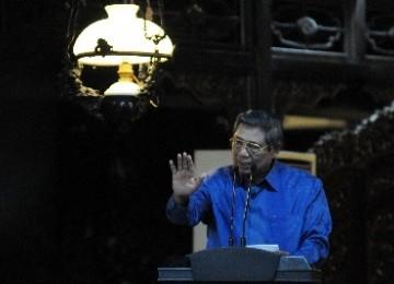 SBY Ajak Kader Demokrat Lakukan Serangan Balik