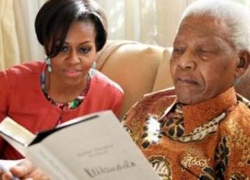 Saat di Afsel, Michelle Obama Menerima Permintaan Kejutan untuk Kunjungi Mandela