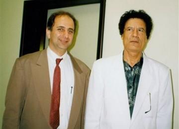 Weleh... Terlihat Sangar, Ternyata Qadafi Pernah Operasi Plastik Wajah