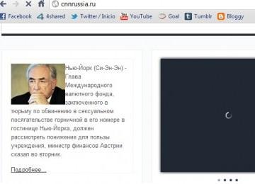 Situs CNN Palsu Berbahasa Rusia: Berita