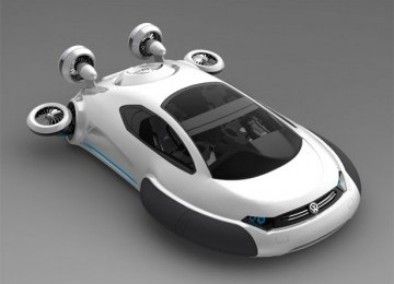 VW Aqua, Mobil Multimedan yang Bisa Mengapung