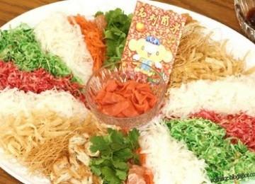 Kenalkan, Makanan 'Keberuntungan' Saat Imlek: Yee Sang