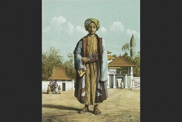 Muslim memakai surban di zaman kerajaan.
