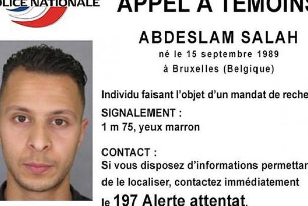 Abdeslam Salah yang lahir di Belgia menjadi buronan polisi terkait serangan Paris.