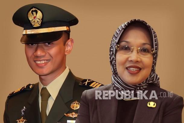 Agus Harimurti Yudhoyono  dan Sylviana Murni