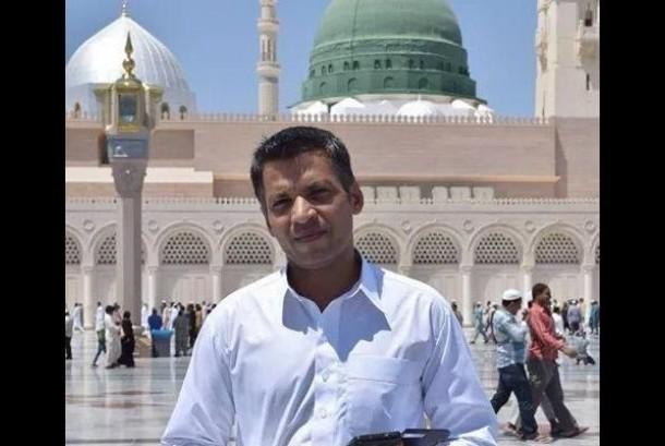 Ahmed di Masjid Nabawi.