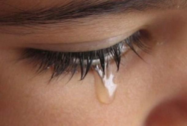Air mata tobat (ilustrasi).