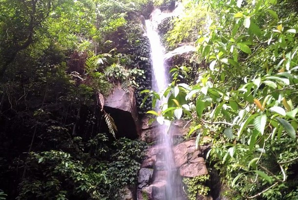 Air Terjun Gunung Ranai, Natuna