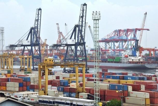 Aktivitas ekspor impor (ilustrasi).