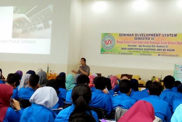 AMIK BSI Bogor Program Studi Akuntansi menggelar seminar