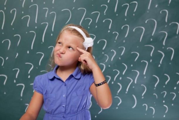 Anak bertanya/ilustrasi