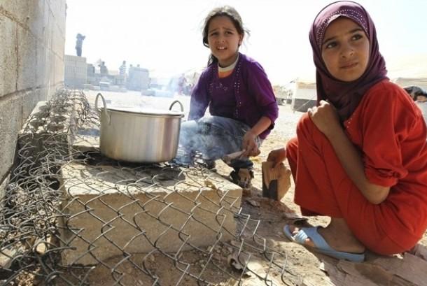 Anak Suriah di pengungsian