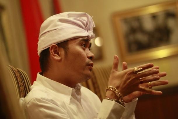 Anggota Dewan Perwakilan Daerah (DPD) Bali terpilih Dr Shri I Gusti Ngurah Arya Wedakarna.