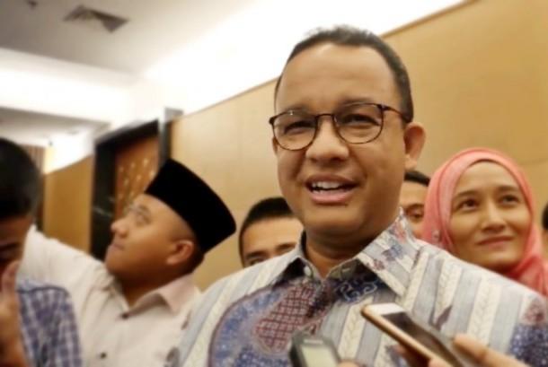 Jakarta governor Anies Baswedan