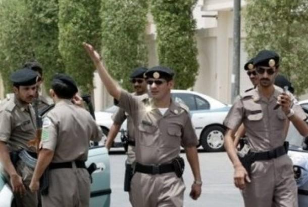 Aparat kepolisian Arab Saudi (ilustrasi).