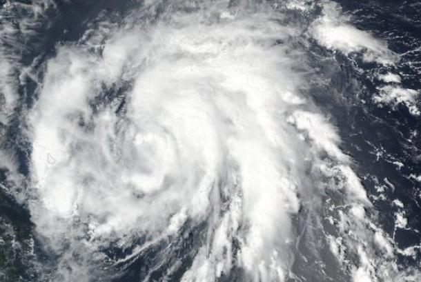 Badai maria (ilustrasi).