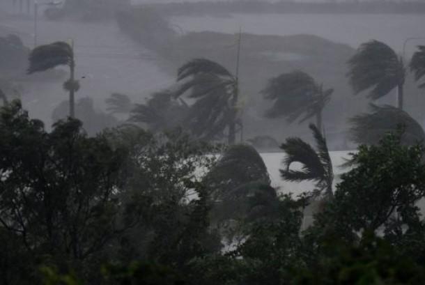 Badai Siklon Debbie (ilustrasi)