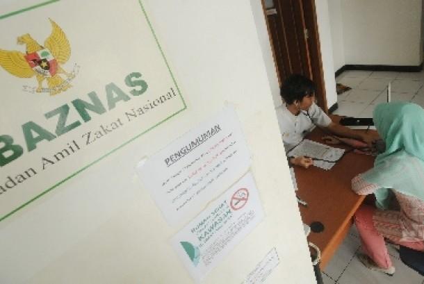 Badan Amil Zakat Nasional (Baznas).