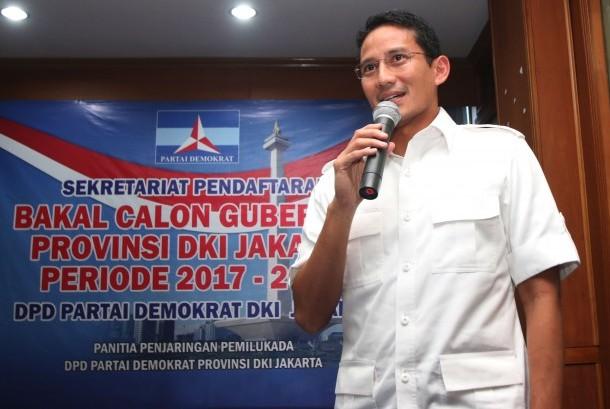 Bakal Calon Gubernur DKI Jakarta Sandiaga Uno
