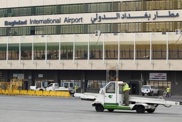 Bandara Internasional Baghdad di Irak.