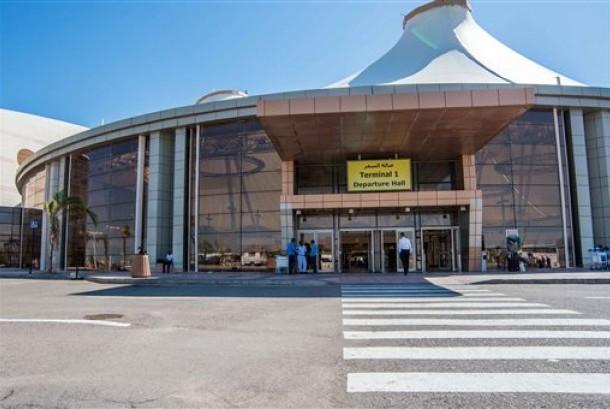 Bandara Sharm el Sheikh, Mesir.