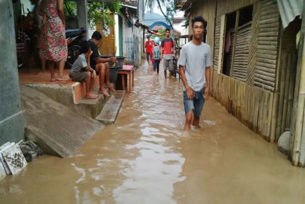 Banjir kembali melanda Kota Bima. ilustrasi