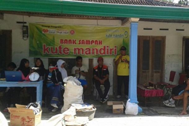 Bank Sampah Kute Mandiri.