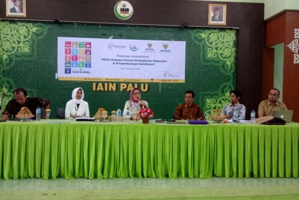 Baznas dan Filantropi Indonesia mendorong pelaksanaan Tujuan Pembangunan Berkelanjutan atau Sustainable Development Goals (SDGs) di Provinsi Sulawesi Tengah.