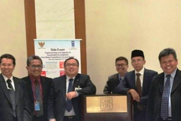 Baznas menandatangani komitmen untuk menetapkan Sustainable Development Goals (SDGs) sebagai acuan dalam program pemberdayaan zakat di seluruh Indonesia.