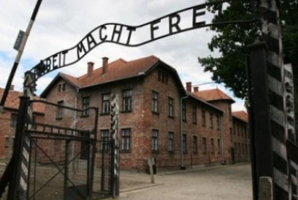 Bekas kamp konsentrasi Yahudi di Auschwitz