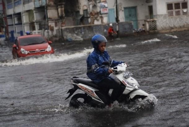 Bencana banjir (ilustrasi).