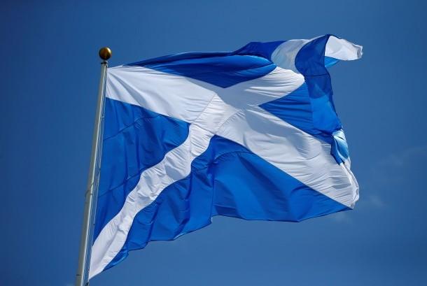 bendera skotlandia