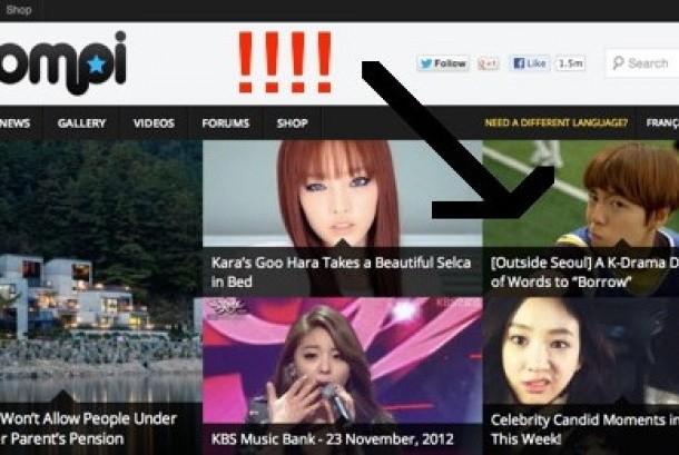 Berbagai situs internet membahas drama-drama Korea