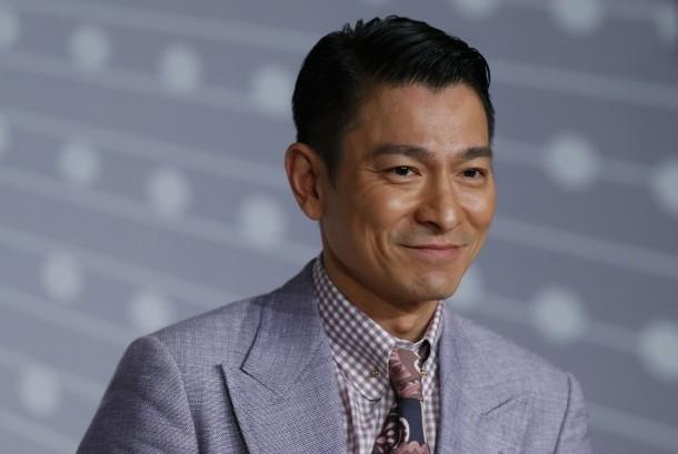 Bintang film asal Hong Kong Andy Lau