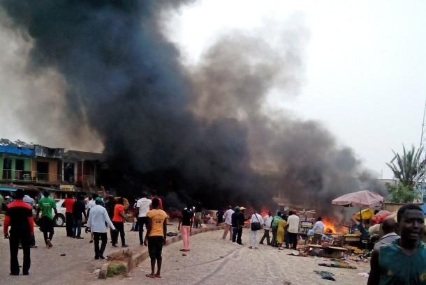 Bom bunuh diri di Nigeria. (Ilustrasi)