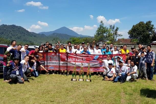 Braver Jakarta gelar touring ke Taman Wisata Grafika Cikole