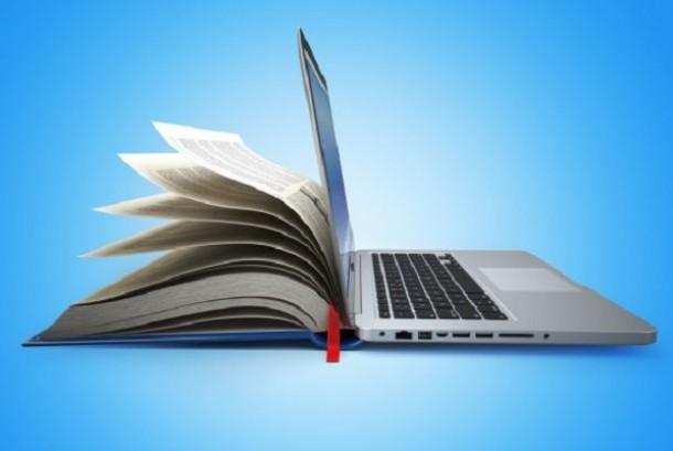 Buku teknologi perkembangan masa depan. Ilustrasi