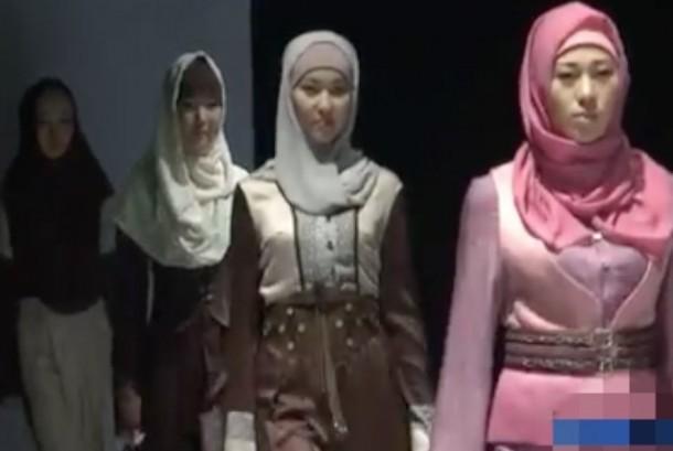 muslimah kirgistan pun ikutan modis republika online