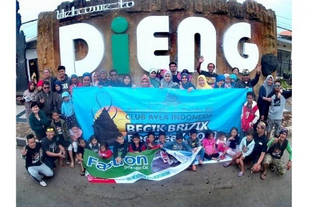 CAI Chapter Bekasi_Cikarang menggelar touring seru ke Dieng