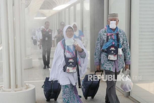Calon jamaah haji Indonesia (ilustrasi)